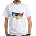 Immigrate? Here? PISS OFF White T-Shirt