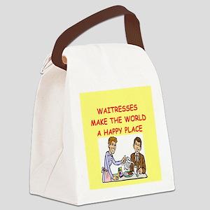 WAITRESS Canvas Lunch Bag