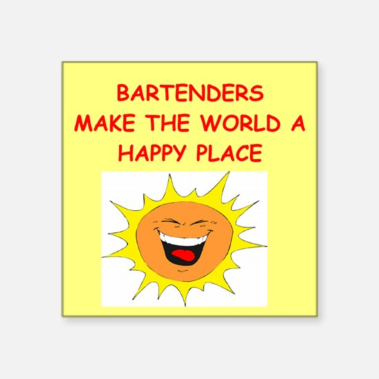 """BARS.png Square Sticker 3"""" x 3"""""""