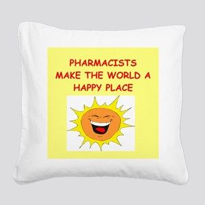 PHARMACISTS Square Canvas Pillow