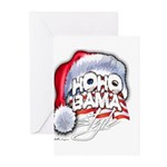 Obama Style Santa Greeting Cards (Pk of 10)
