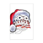Obama Style Santa Mini Poster Print