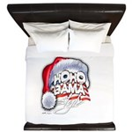 Obama Style Santa King Duvet