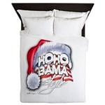 Obama Style Santa Queen Duvet