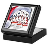 Obama Style Santa Keepsake Box