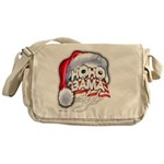 Obama Style Santa Messenger Bag