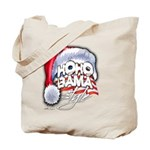 Obama Style Santa Tote Bag