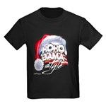 Obama Style Santa Kids Dark T-Shirt