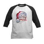 Obama Style Santa Kids Baseball Jersey