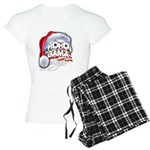 Obama Style Santa Women's Light Pajamas