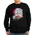 Obama Style Santa Sweatshirt (dark)