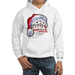 Obama Style Santa Hooded Sweatshirt