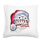 Obama Style Santa Square Canvas Pillow