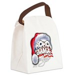 Obama Style Santa Canvas Lunch Bag