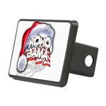 Obama Style Santa Rectangular Hitch Cover