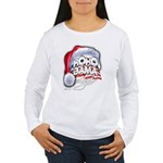 Obama Style Santa Women's Long Sleeve T-Shirt