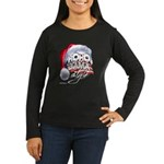 Obama Style Santa Women's Long Sleeve Dark T-Shirt