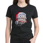 Obama Style Santa Women's Dark T-Shirt