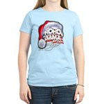 Obama Style Santa Women's Light T-Shirt