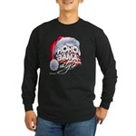 Obama Style Santa Long Sleeve Dark T-Shirt