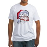 Obama Style Santa Fitted T-Shirt
