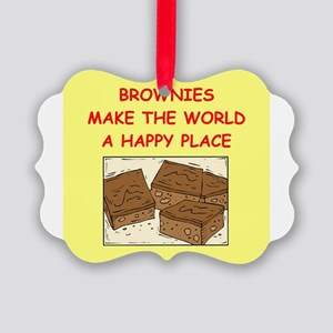 BROWNIES Picture Ornament