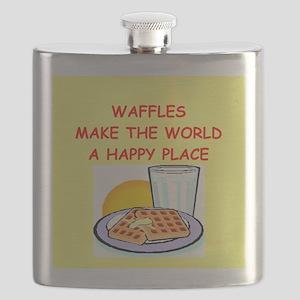 WAFFLES Flask