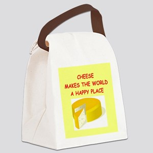 CHEESE Canvas Lunch Bag