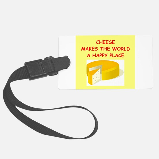 CHEESE.png Luggage Tag
