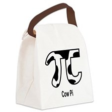 Cow Pi Canvas Lunch Bag