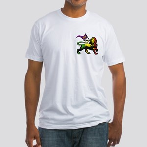 Rasta Lion Fitted T-Shirt (2-Sided)