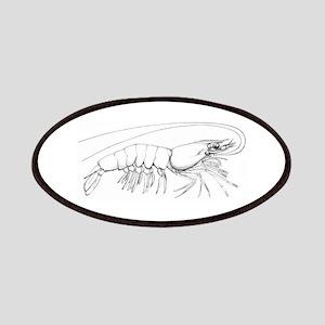 Shrimp Logo Patches