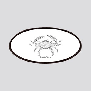 Blue Crab Logo Patches