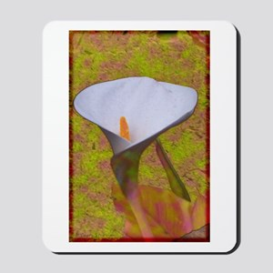 Calla Lily with Pastels Mousepad