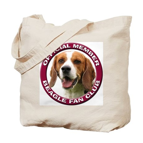 Beagle Fan Club 2 Tote Bag