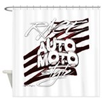 RACEMOTOSTYLE Shower Curtain