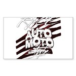 RACEMOTOSTYLE Sticker (Rectangle 50 pk)