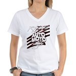 RACEMOTOSTYLE Women's V-Neck T-Shirt