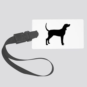 Coonhound Dog (#2) Large Luggage Tag