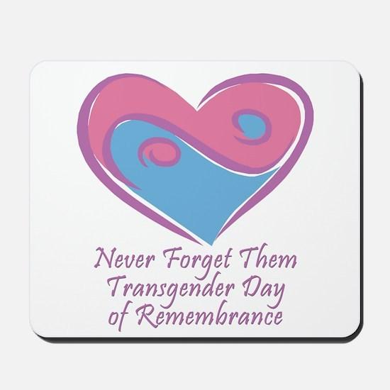 Transgender Day of Remembrance Mousepad