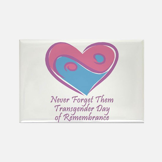 Transgender Day of Remembrance Rectangle Magnet