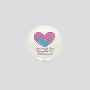 Transgender Day of Remembrance Mini Button