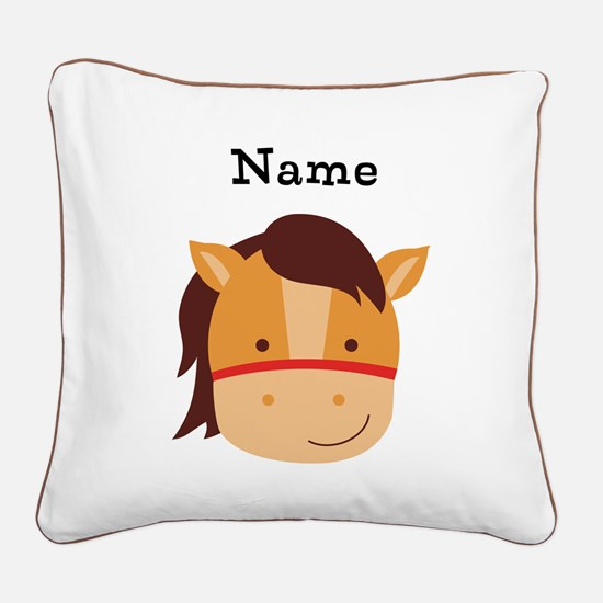 Personalized Horse Pillow