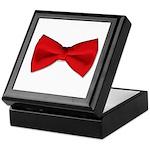 Bow Tie Red Keepsake Box
