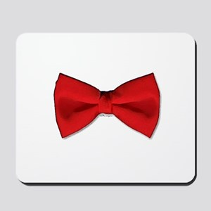 Bow Tie Red Mousepad