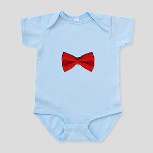 Bow Tie Red Infant Bodysuit