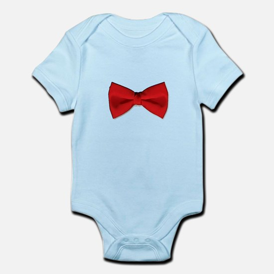Bow Tie Red Infant Bodysuit