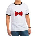 Bow Tie Red Ringer T