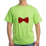 Bow Tie Red Green T-Shirt
