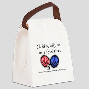 balls Canvas Lunch Bag